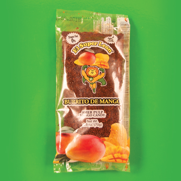 El Super Leon Ponchin Snacks Burritos Mango b