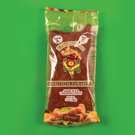 El Super Leon Ponchin Snacks Burritos Tamarind