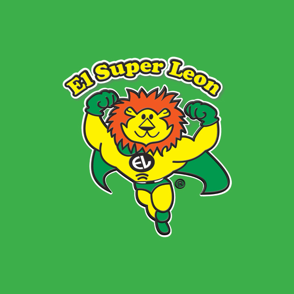 El Super Leon Ponchin Snacks Background logo