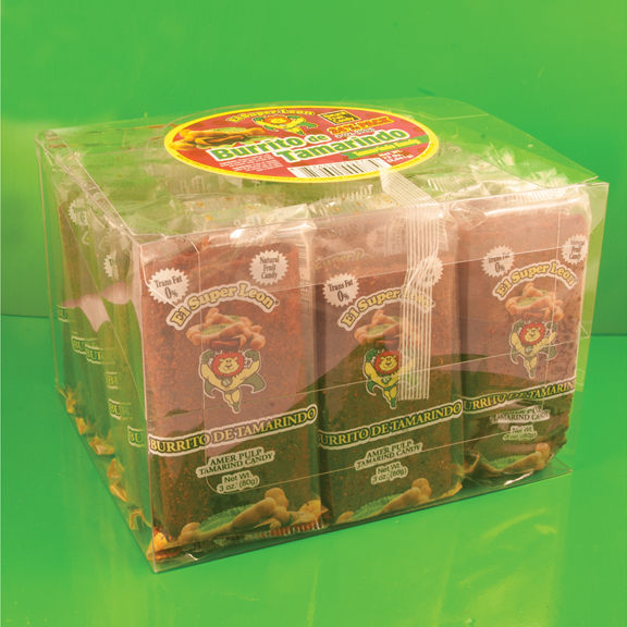 El Super Leon Ponchin Snacks Burritos Tamarind pack