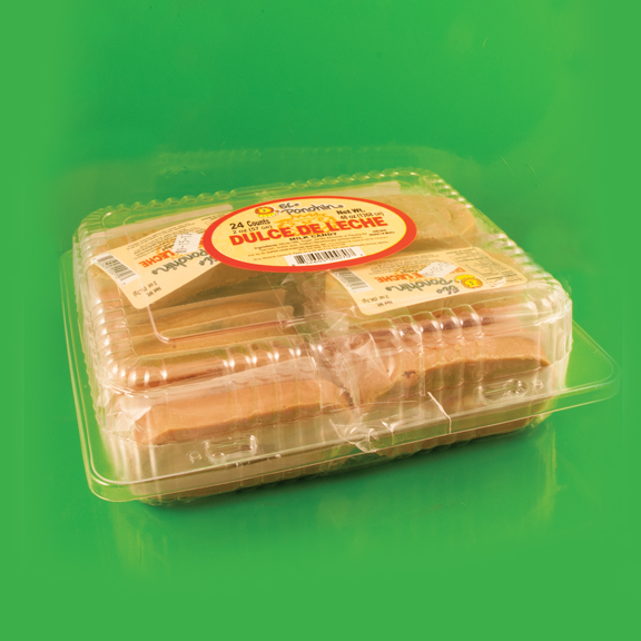 El Super Leon Ponchin Snacks Dulce de Leche case