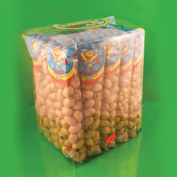 El Super Leon Ponchin Snacks Japanese Peanuts case