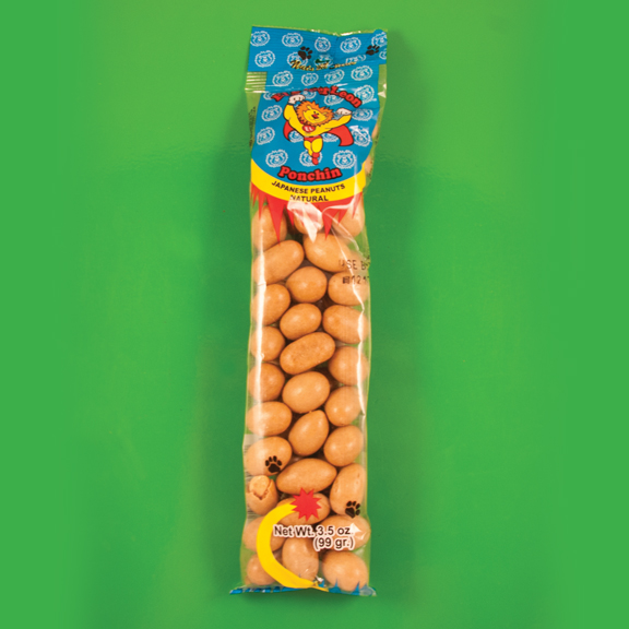 El Super Leon Ponchin Snacks Japanese Peanuts