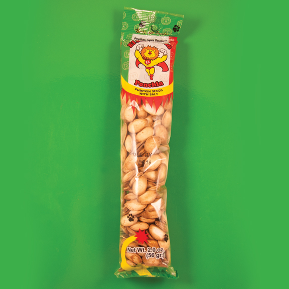 El Super Leon Ponchin Snacks Pumpkin Seeds with Salt