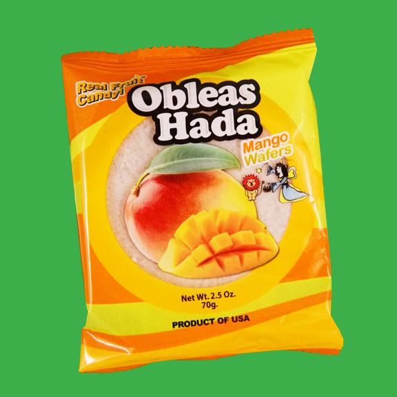 El Super Leon Ponchin Snacks Obleas Hada mango
