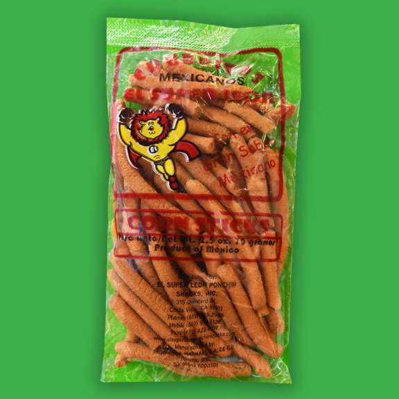 El Super Leon Ponchin Snacks Churrito grueso