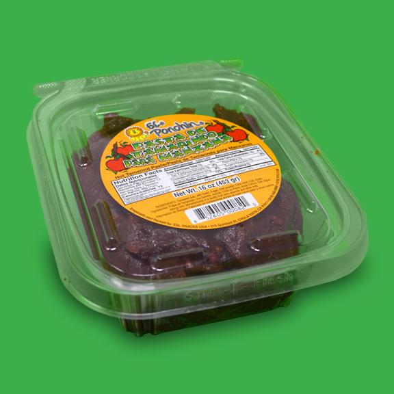 El Super Leon Ponchin Snacks Pasta de Tamarindo para Manzana