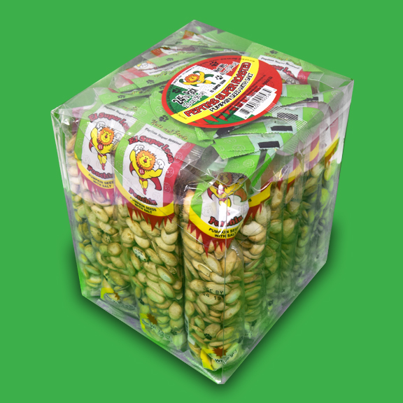 El Super Leon Ponchin Snacks Pumpkin Seeds with Salt case