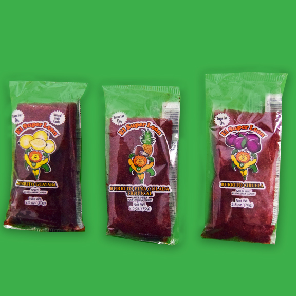 El Super Leon Ponchin Snacks Comburritos mix