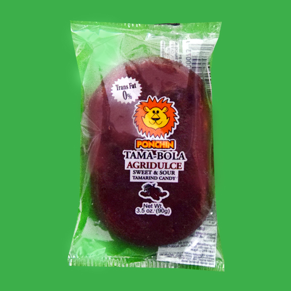 El Super Leon Ponchin Snacks Tama Bola Sweet Sour